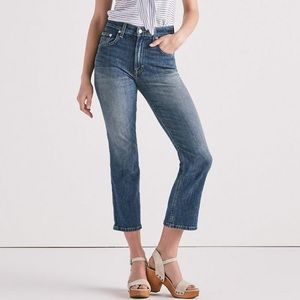 NWT Lucky Brand Lucky Pins Cropped Jeans